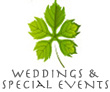 Wedding and Special Events